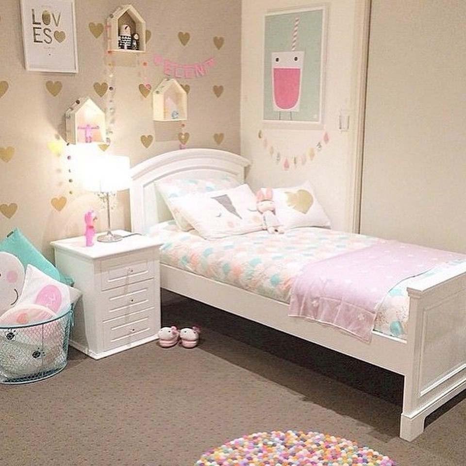 phong ngủ bé gái từ 2 đến 6 tuổi xinh xắn