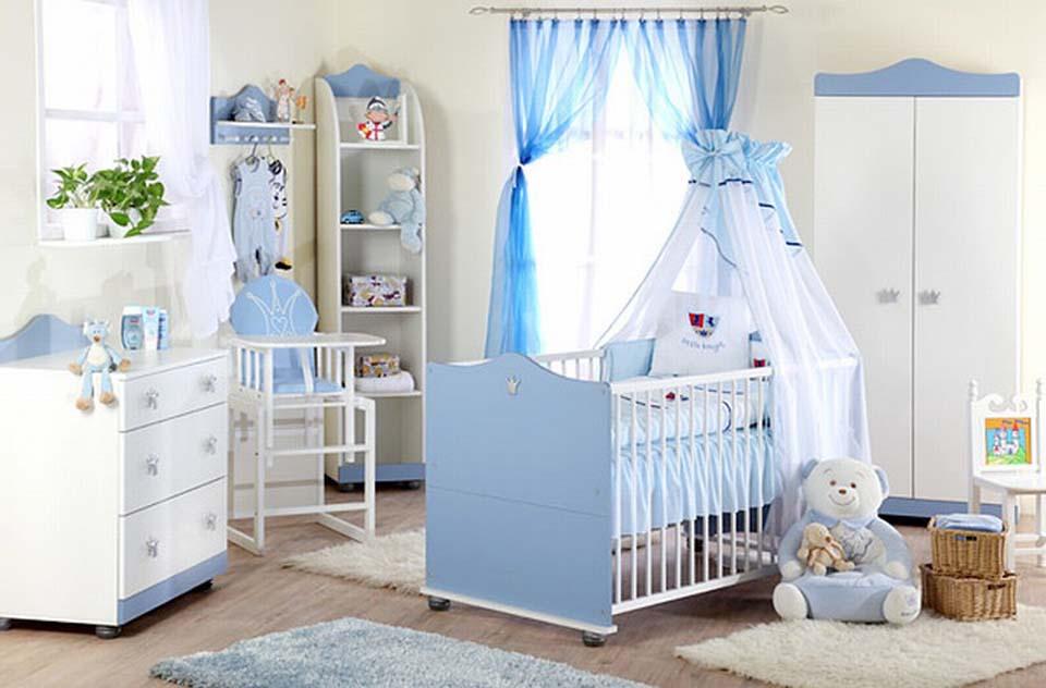 phòng ngủ cho bé gái sơ sinh đến 2 tuổi đẹp