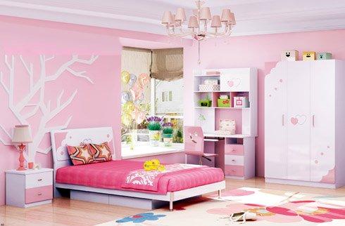 mẫu phòng ngủ cho bé gái từ 6 đến 12 tuổi