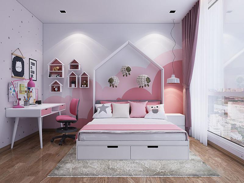 trang trí phòng ngủ cho bé gái từ 12 đến 15 tuổi