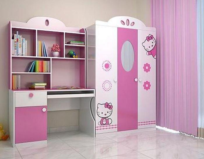 tủ quần áo phòng ngủ bé gái
