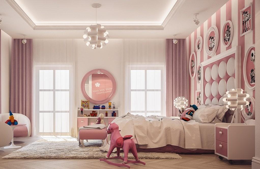 mẫu thiết kế phòng ngủ cho bé gái 15 đến 18 tuổi