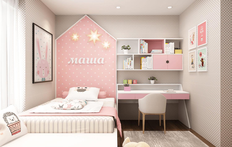mẫu phòng ngủ bé gái từ 15 đến 18 tuổi đẹp
