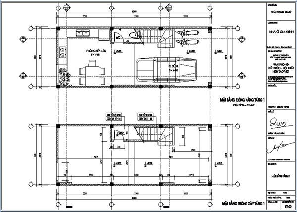 quy định khung bản vẽ xây dựng