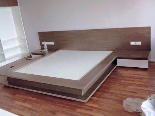 giường kiểu nhật gỗ công nghiệp đẹp