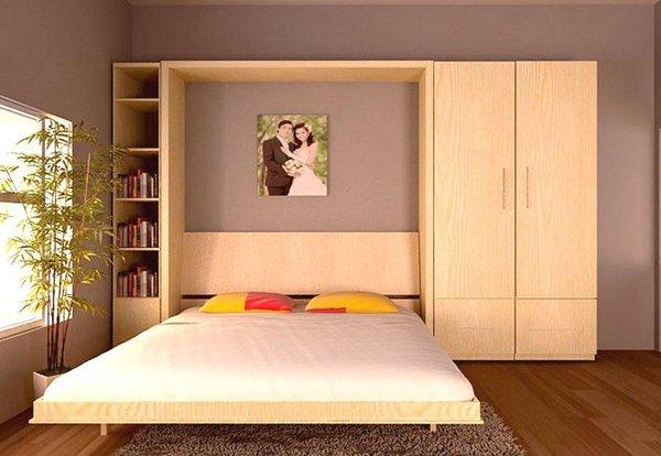 giường ngủ kiểu Nhật tiết kiệm diện tích