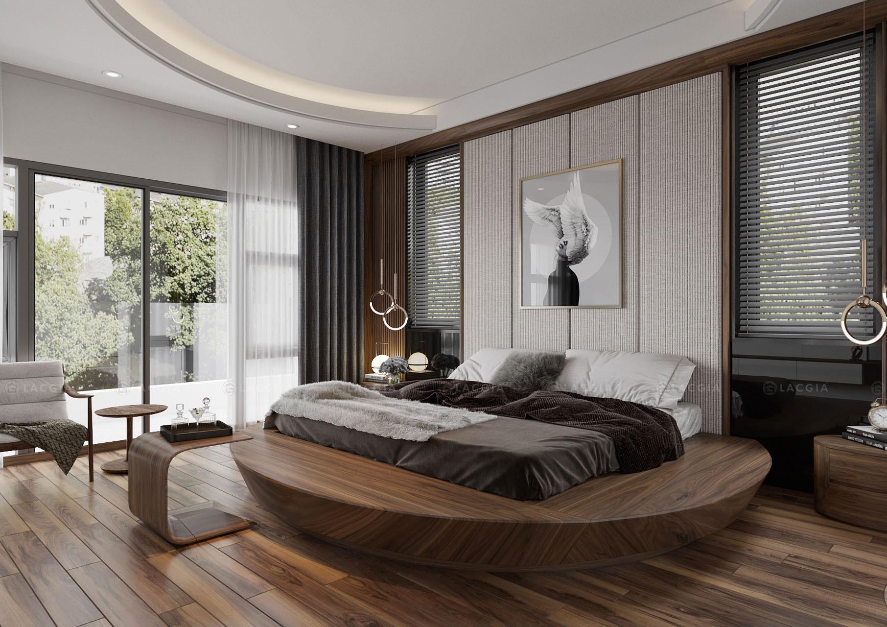 giường ngủ đẹp kiểu Nhật