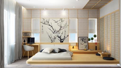 giường ngủ kiểu nhật đa phong cách