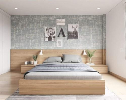 giường ngủ gỗ công nghiệp kiểu nhật
