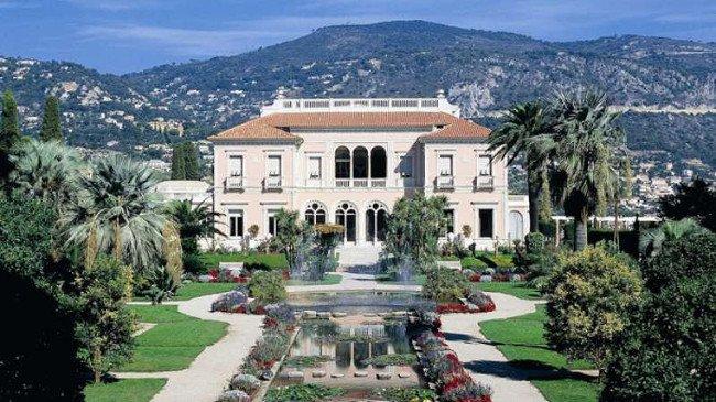 những ngôi nhà đẹp nhất thế giới Biệt thự Les Cèdres, France