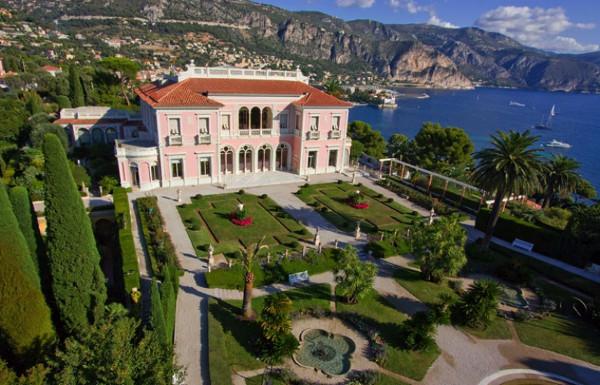 những ngôi nhà đắt nhất thế giới Villa Les Cèdres, France