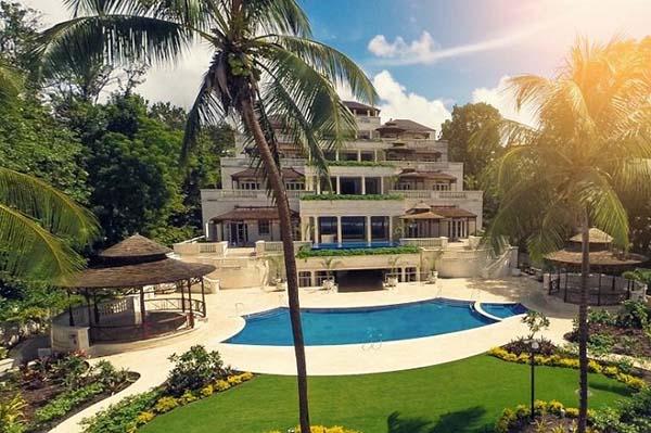những ngôi nhà đẹp nhất thế giới villa Palazzo, Barbados
