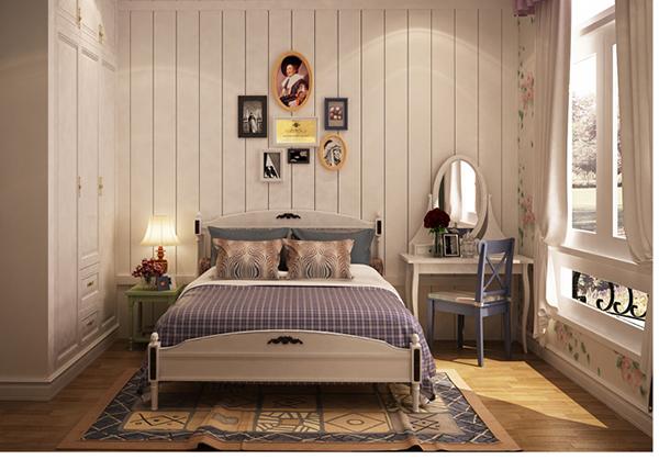 nội thất phòng ngủ đẹp phong cách Korea