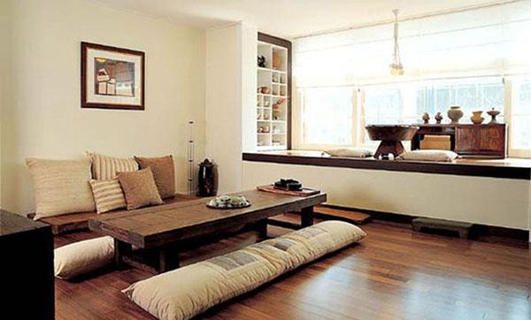 chất liệu nội thất kiểu Hàn
