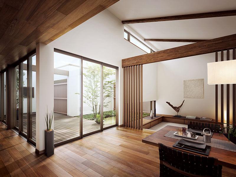 sắp xếp không gian nội thất phong cách Hàn Quốc