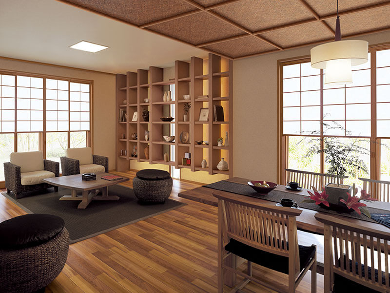 tận dụng ánh sáng tự nhiên trong thiết kế nội thất kiểu Hàn