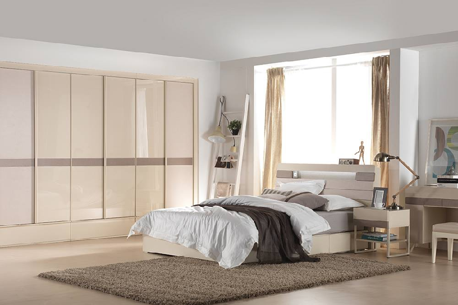 nội thất phòng ngủ kiểu Hàn