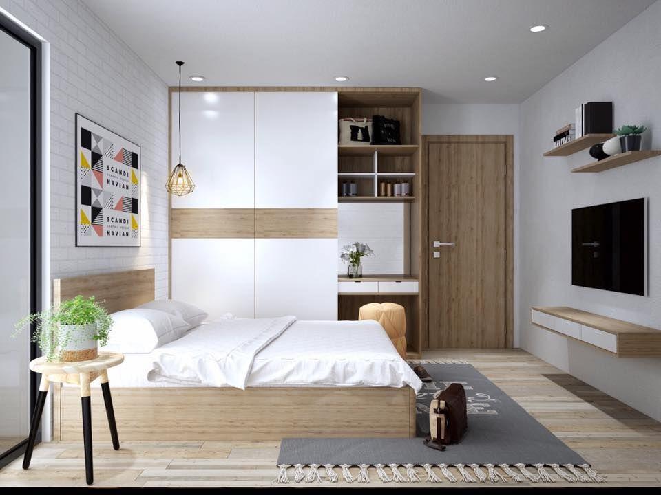 mẫu nội thất kiểu Hàn cho phòng ngủ