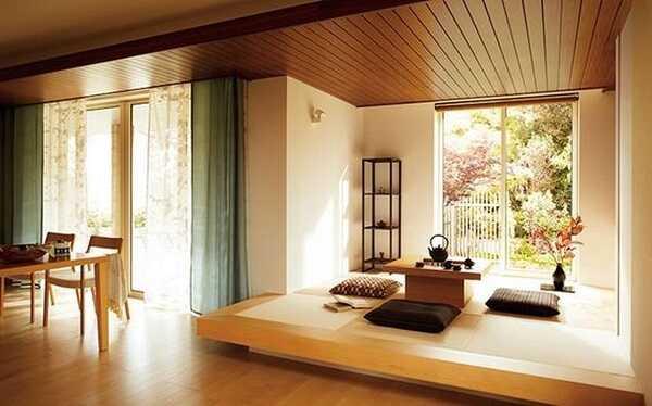 mẫu nội thất phòng khách kiểu Hàn đẹp