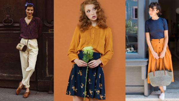 phong cách retro là gì thời trang