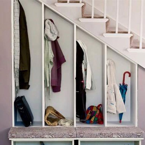 tủ quần áo gầm cầu thang đẹp