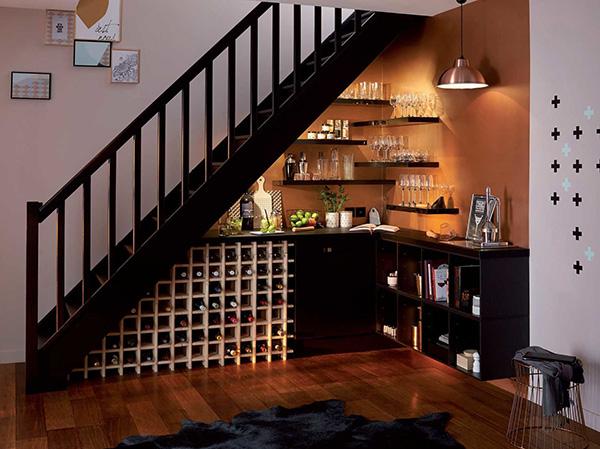 lưu ý khi thiết kế và làm tủ gầm cầu thang