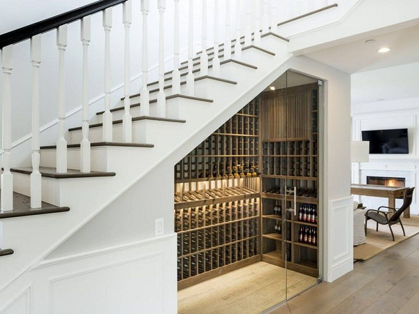 tủ rượu cầu thang đẹp nhất